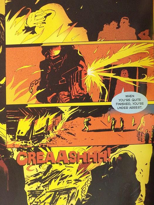 Ray Bradbury's Fahrenheit 451: The Authorized Adaptation [Graphic Novel], Hamilton, Tim; Bradbury, Ray (Introduction)