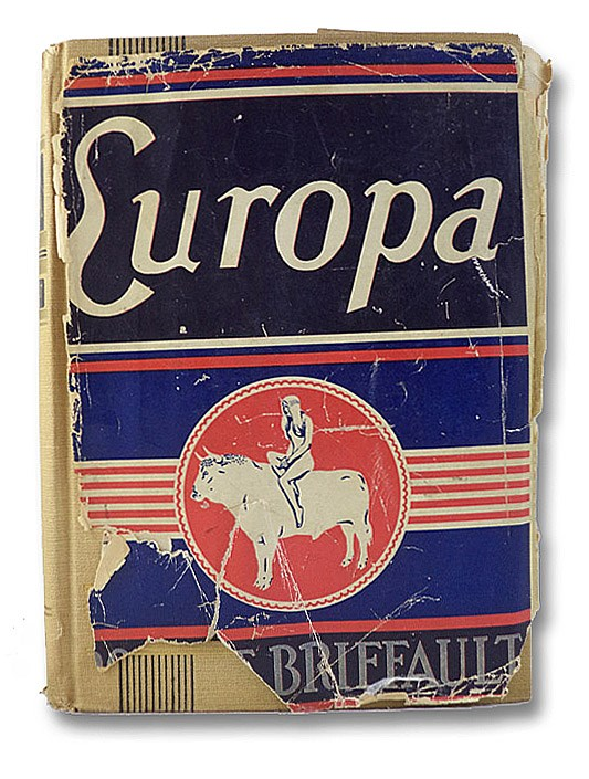 Europa: The Days of Ignorance, Briffault, Robert