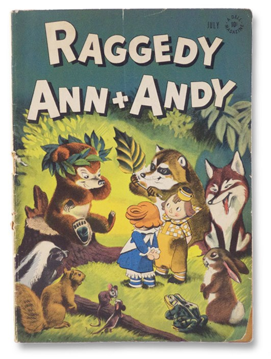 Raggedy Ann + Andy, Volume I, No. 14, July, 1947 [Vol. 1, Number XIV], Gruelle, Johnny; Kelly, Walt; Noonan, Dan; Andrews; Enright, W.J.;