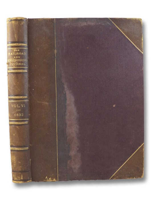 The Railroad and Engineering Journal. Volume LXVI. (Volume VI, New Series.), Forney, M. [Matthias] N.