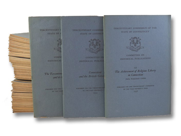 The Tercentenary Pamphlet Series, in 61 Volumes (I-LX, Plus Supplement) [Tercentenary Commission of the State of Connecticut, Committee on Historical Publications], Tercentenary Commission of the State of Connecticut, Committee on Historical Publications