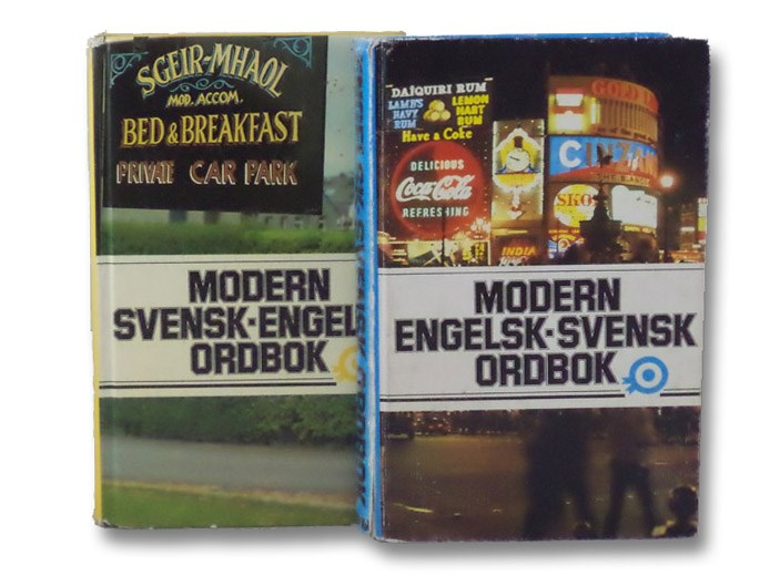 Modern Svensk-Engelsk Ordbok (A Modern Swedish-English Dictionary)  [with]  Modern Engelsk-Svensk Ordbok (A Modern English-Swedish Dictionary), Bokforlaget Prisma