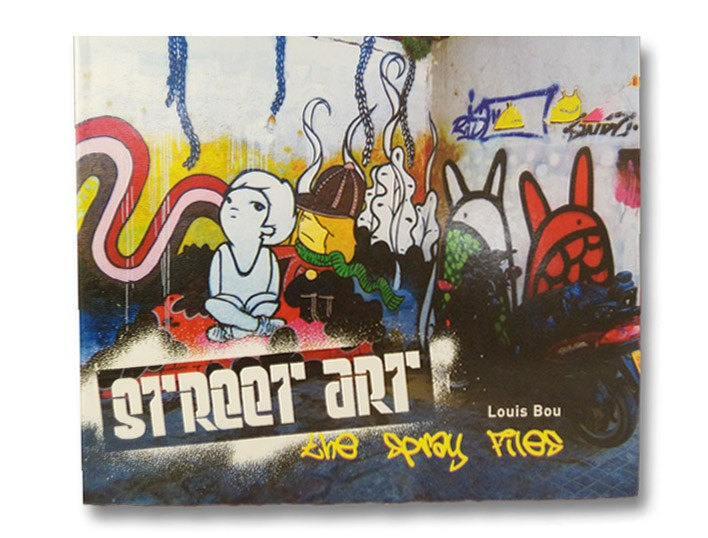 Street Art: The Spray Files, Bou, Louis