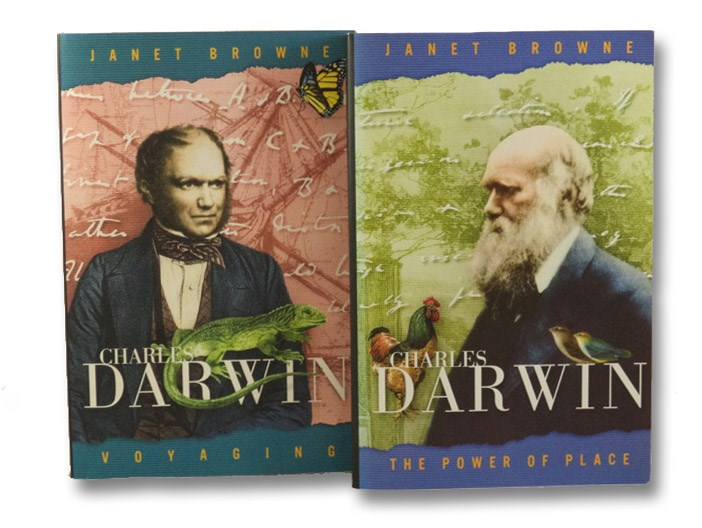 Charles Darwin: A Biography, in Two Volumes -- Voyaging; The Power of Place, Browne, Janet