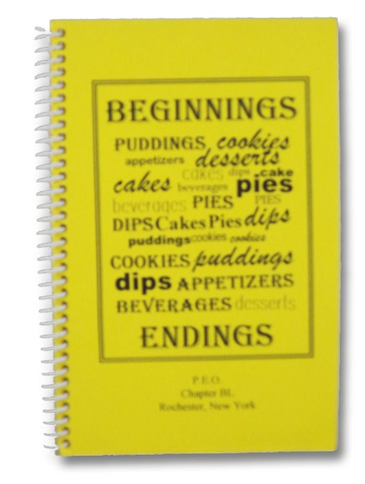 Beginnings Cookbook P.E.O. Chapter BL Rochester, NY, Hazard, Mary