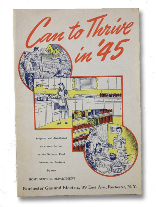 Can to Thrive in '45, Home Service Department