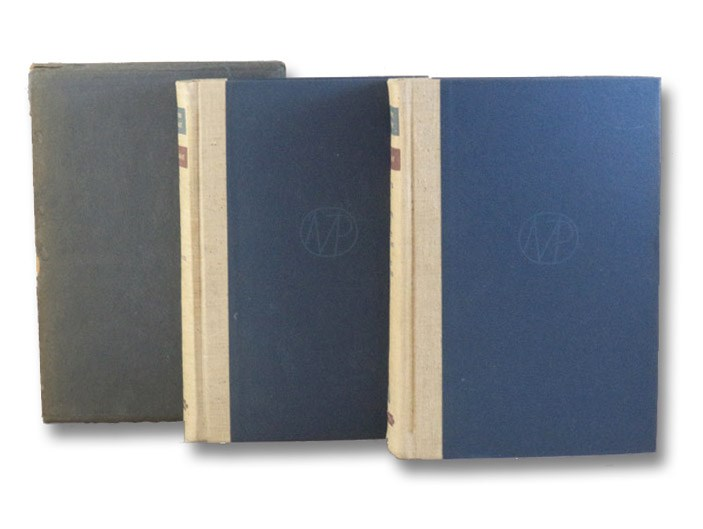 Remembrance of Things Past 2-Volume Hardcover Set in Slipcase: Swann's Way; Within a Budding Grove; The Guermantes Way; Cities of the Plain; The Captive; The Sweet Cheat Gone; The Past Recaptured, Proust, Marcel; Moncrief, C.K. Scott