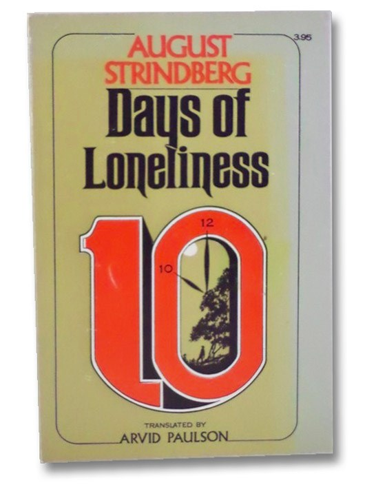 Days of Loneliness, Strindberg, August; Paulson, Arvid