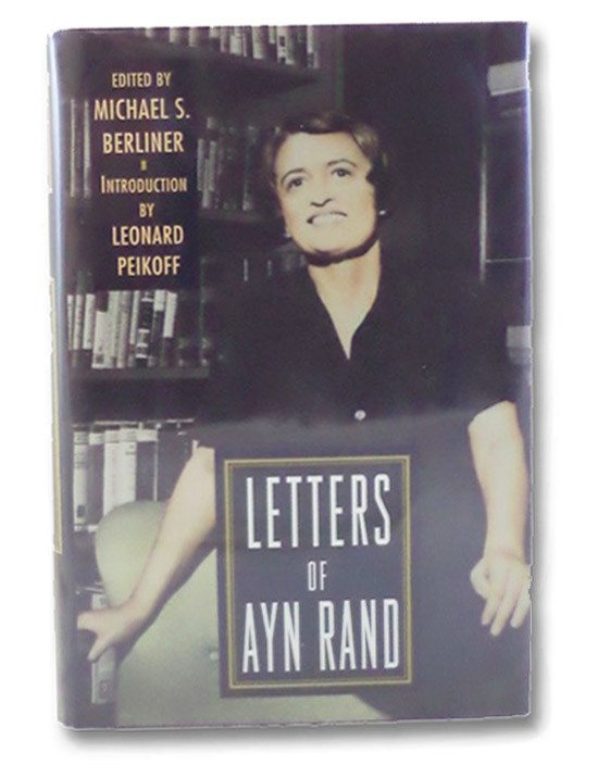 Letters of Ayn Rand, Berliner, Michael S.