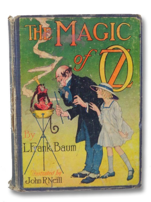 The Magic of Oz (Oz Book 13), Baum, L. Frank