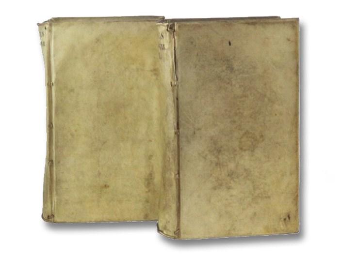 Titi Livii Historiarum Quod Extat cum perpetuis Car. Sigonii et J.F. Gronovii Notis. Jac. Gronovius probavit, suasque et aliorum, Notas adjecit., Tome I & II [Livy's History of Rome - Volumes One & Two of a Three Volume Set], Livii, Titi [Livius Patavinus, Titus; Livy]; Gronovius, J.F.; Sigonius, Carolus