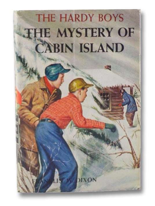 The Mystery of Cabin Island (The Hardy Boys Mystery Stories #8), Dixon, Franklin W.