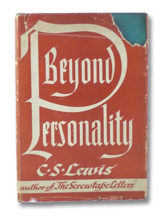 Beyond Personality: The Christian Idea of God, Lewis, C.S. (Clive Staples)