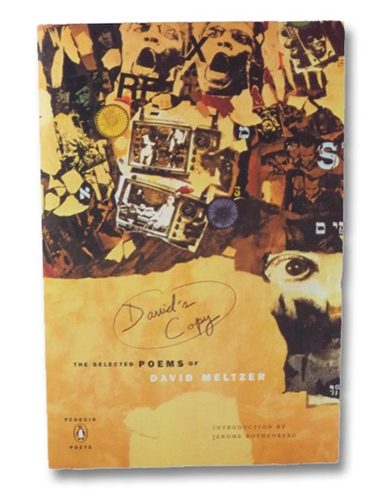 David's Copy: The Selected Poems of David Meltzer, Meltzer, David; Rothenberg, Jerome