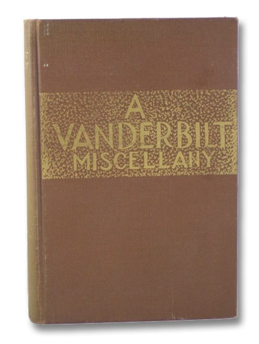 A Vanderbilt Miscellany, 1919-1944, Beatty, Richmond Croom