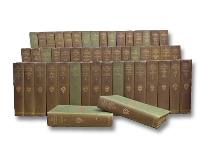 Harvard Classics Complete 50 Volume Set [The Five-Foot Shelf of Books]: Alumni Edition De Luxe, Eliot, Charles W.