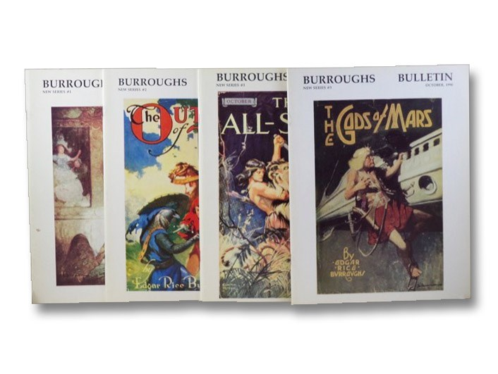 The Burroughs Bulletin, Number 1-[4] of New Series: January, April, July, and October, 1990 [Edgar Rice Burroughs], Burroughs Bibliophiles; [Burroughs, Edgar Rice]