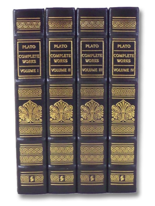Plato: Complete Works, in Four Volumes (Collector's Edition), Plato; Cooper, John M.; Hutchinson, D.S.; Grube, G.M.A.; Reeve, C.D.C.; Levett, M.J.; Burnyeat, Myles F.; White, Nicholas P.; Rowe, C.J.; Gill, Mary Louise; Ryan, Paul; Frede, Dorothea; Nehamas, Alexander; Woodruff, Paul; Kenny, Anthony; Smith, Nicholas D