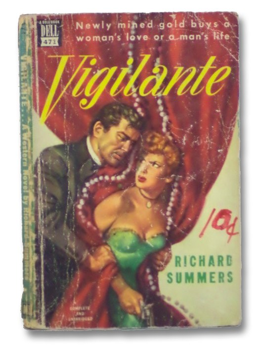 Vigilante (Dell Mapback No. 471), Summers, Richard