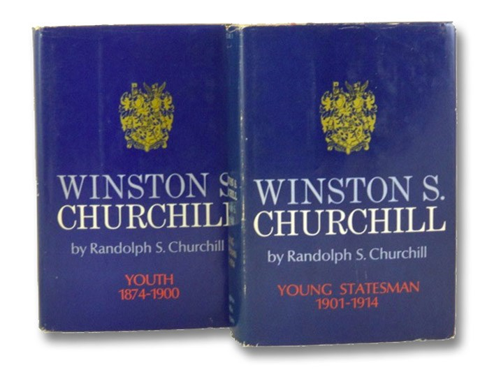 Winston S. Churchill, Volumes I & II: Youth, 1874-1900; Young Statesman, 1901-1914 [Books 1 & 2], Churchill, Randolph S.