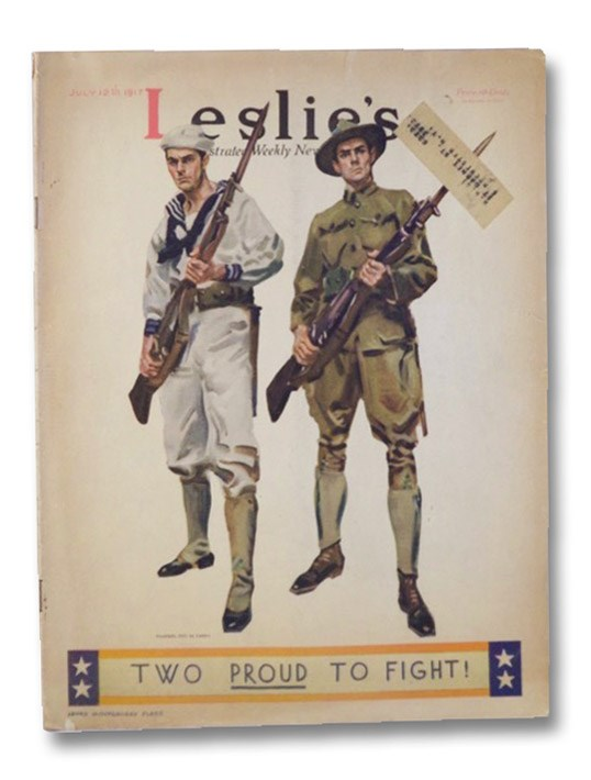 Leslie's Illustrated Weekly Newspaper; July 12, 1917 No. 3227, Leslie's Weekly; Sleicher, John A. (Editor)