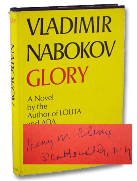 Glory, Nabokov, Vladimir; Nabokov, Dmitri