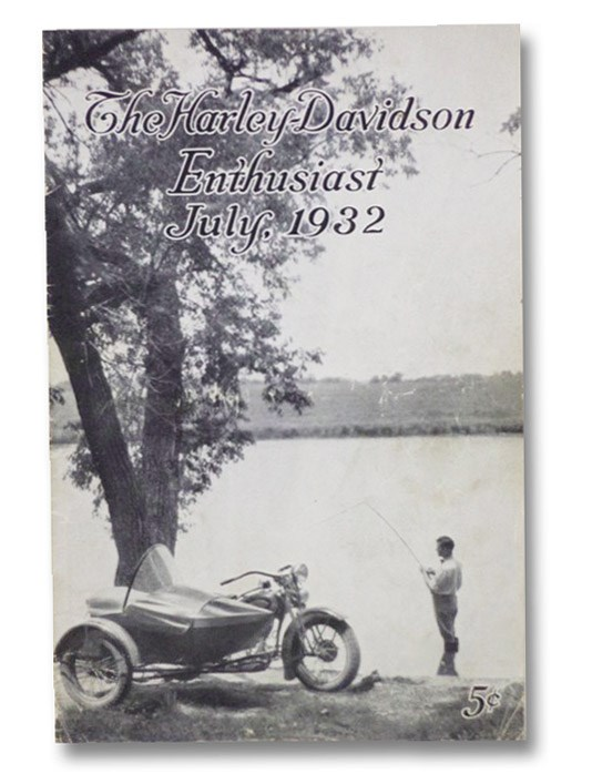 The Harley-Davidson Enthusiast, July, 1932, Hayes, Hap; Floyner, Joseph