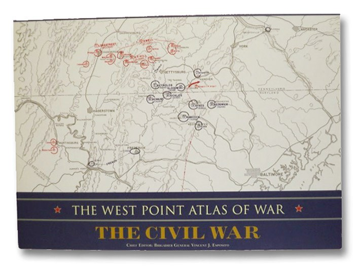 The West Point Atlas of War: The Civil War, Esposito, Vincent J.