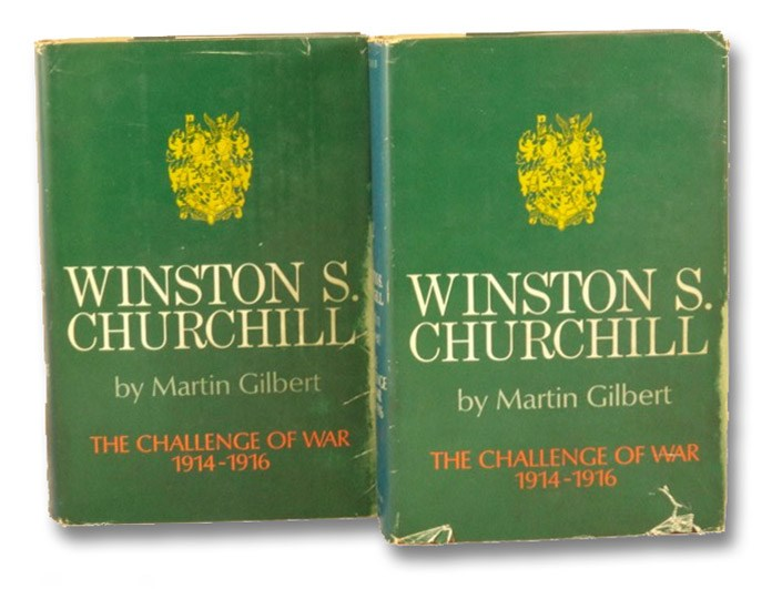 Winston S. Churchill Volume III, 1914-1916: The Challenge of War - in Two Volumes, Gilbert, Martin