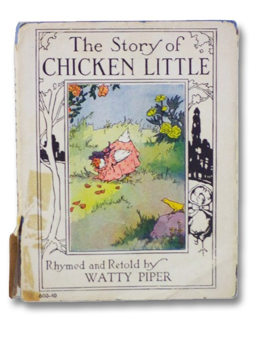 The Story of Chicken Little (Wee Books for Wee Folks Series), Piper, Watty