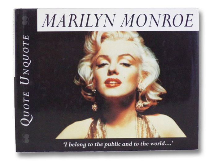 Quote Unquote: Marilyn Monroe, Anderson, Janice