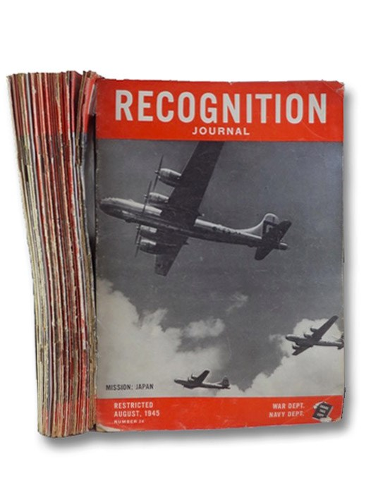 U.S. Army-Navy Journal of Recognition [Recognition Journal], Complete 24 Volume Set: Number 1, September, 1943 - Number 24, August, 1945, U.S. War and Navy Departments; Time Inc.; Anderson, P.T.