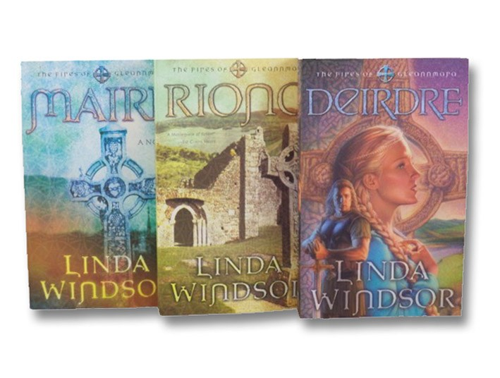The Fires of Gleannmara Trilogy: Maire; Riona; Deirdre, Windsor, Linda