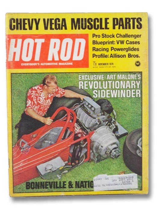 Hot Rod Magazine November 1970, Evans, Don