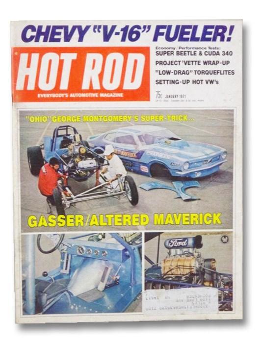Hot Rod Magazine January 1971, Evans, Don