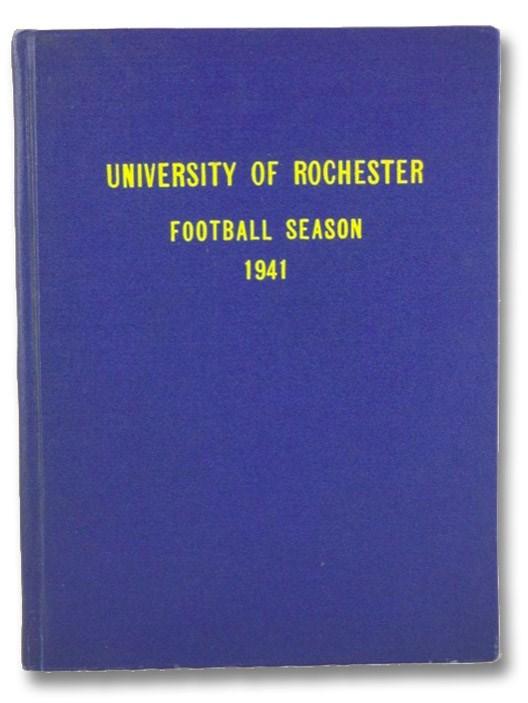 University of Rochester: Football Season 1941, University of Rochester