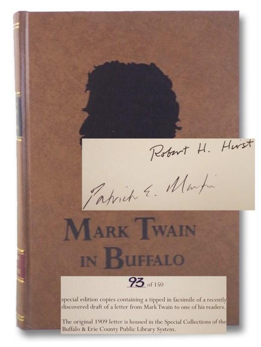 Mark Twain in Buffalo, Hirst, Robert H.; Martin, Patrick E.