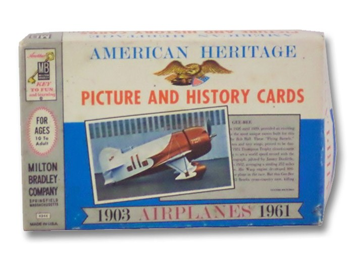 American Heritage Picture and History Cards: Airplanes, 1903-1961, American Heritage