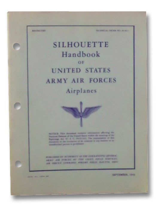 Silhouette Handbook of United States Army Air Forces Airplanes, Army Air Forces