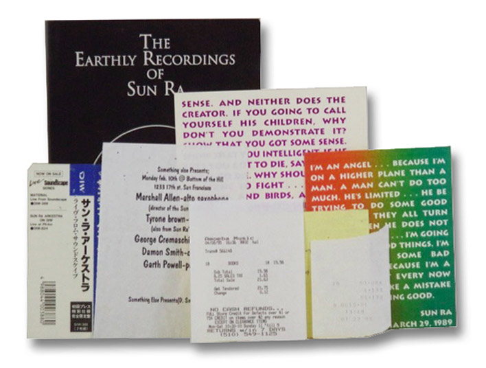 The Earthly Recordings of Sun Ra [Additional Material Laid In], Campbell, Robert L.