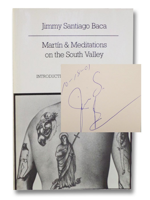 Martin & Meditations on the South Valley, Baca, Jimmy Santiago; Levertov, Denise (Introduction)