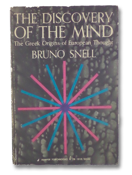 The Discovery of the Mind, Snell, Bruno