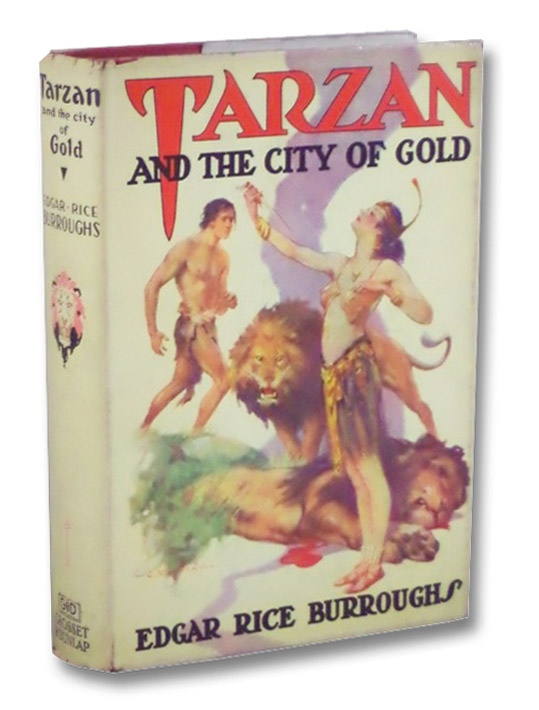 Tarzan and the City of Gold (Tarzan Series Book 16), Burroughs, Edgar Rice