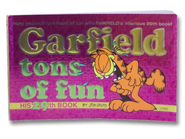 Garfield Tons of Fun (His 29th Book), Davis, Jim