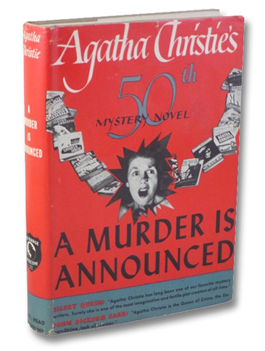 A Murder is Announced: Agatha Christie's 50th Mystery Novel, Christie, Agatha