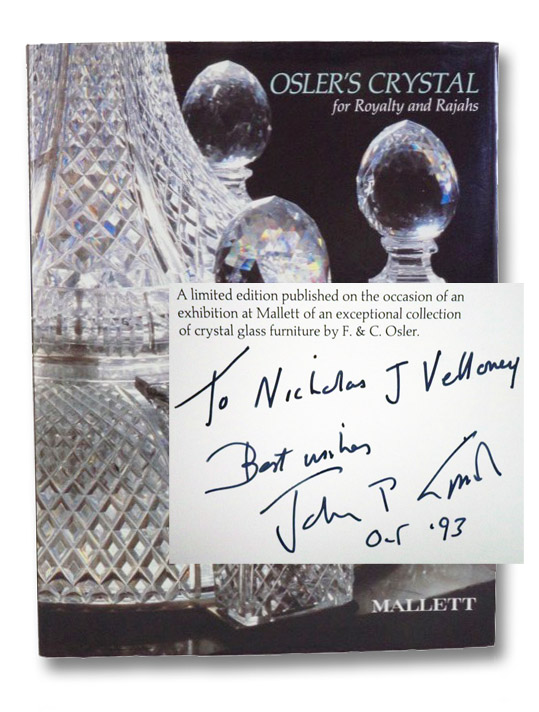 Osler's Crystal for Royalty and Rajahs, Smith, John P.