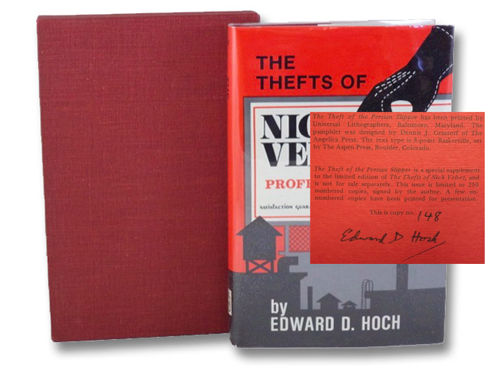 The Thefts of Nick Velvet [with] The Theft of the Persian Slipper, Hoch, Edward D.