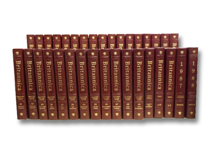 The New Encyclopaedia Britannica 34 Volume Set: 29 Numbered Volumes, 2 Index Volumes, 1 Guide, and 2 Annuals (1987 & 1988) [Encyclopedia], Chisolm, Hugh