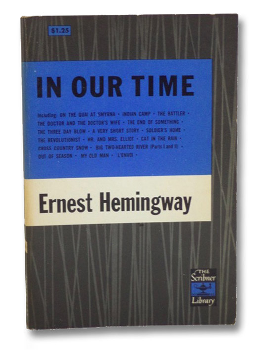 In Our Time (The Scribner Library), Hemingway, Ernest