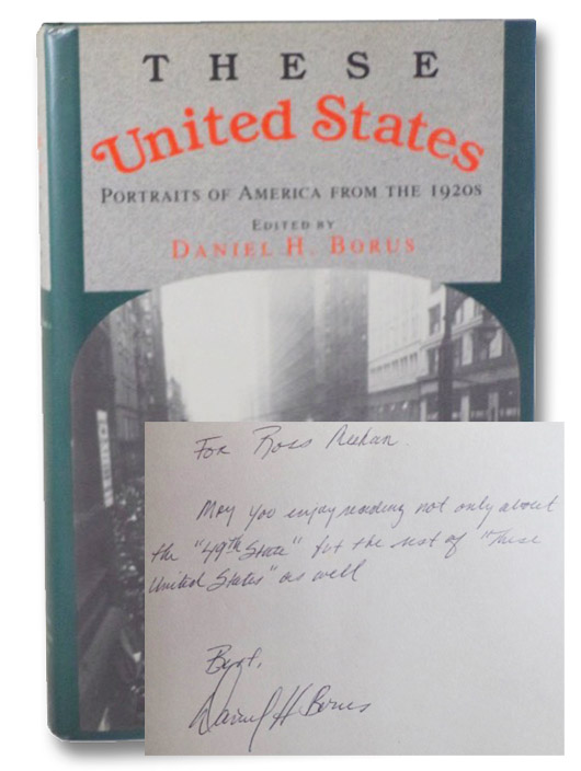 These United States: Portraits of America from the 1920s, Borus, Daniel H.